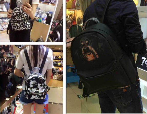 纪梵希Givenchy狗头包双肩包尺寸有哪些?